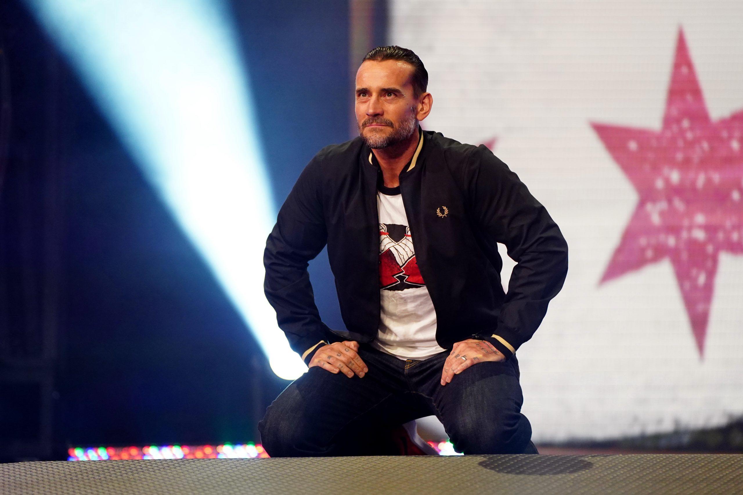 CM Punk no AEW Dynamite