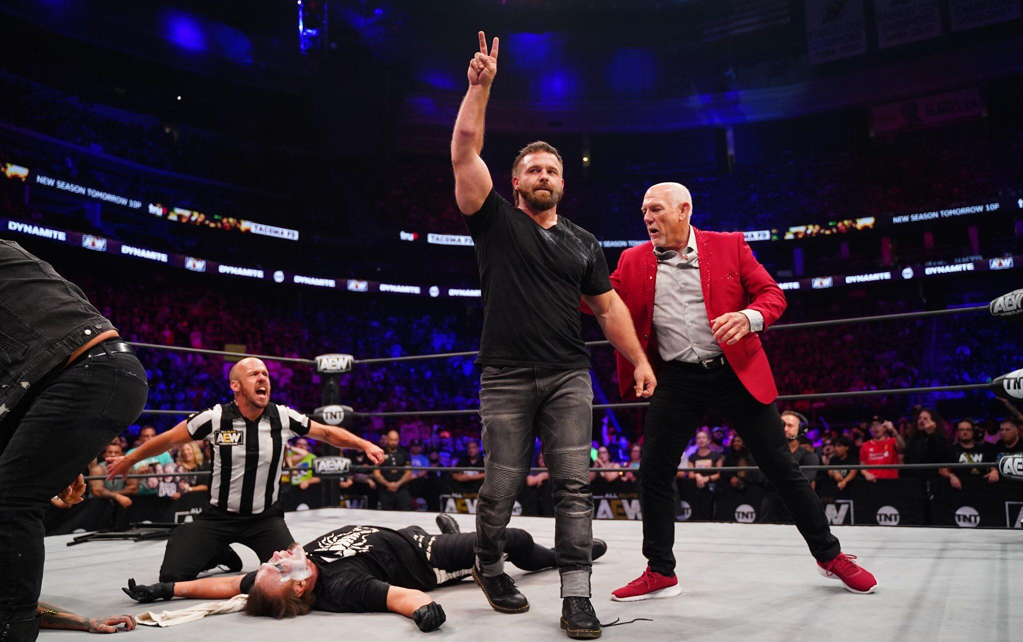 AEW Dynamite bate o WWE RAW em audiência pela segunda semana seguida
