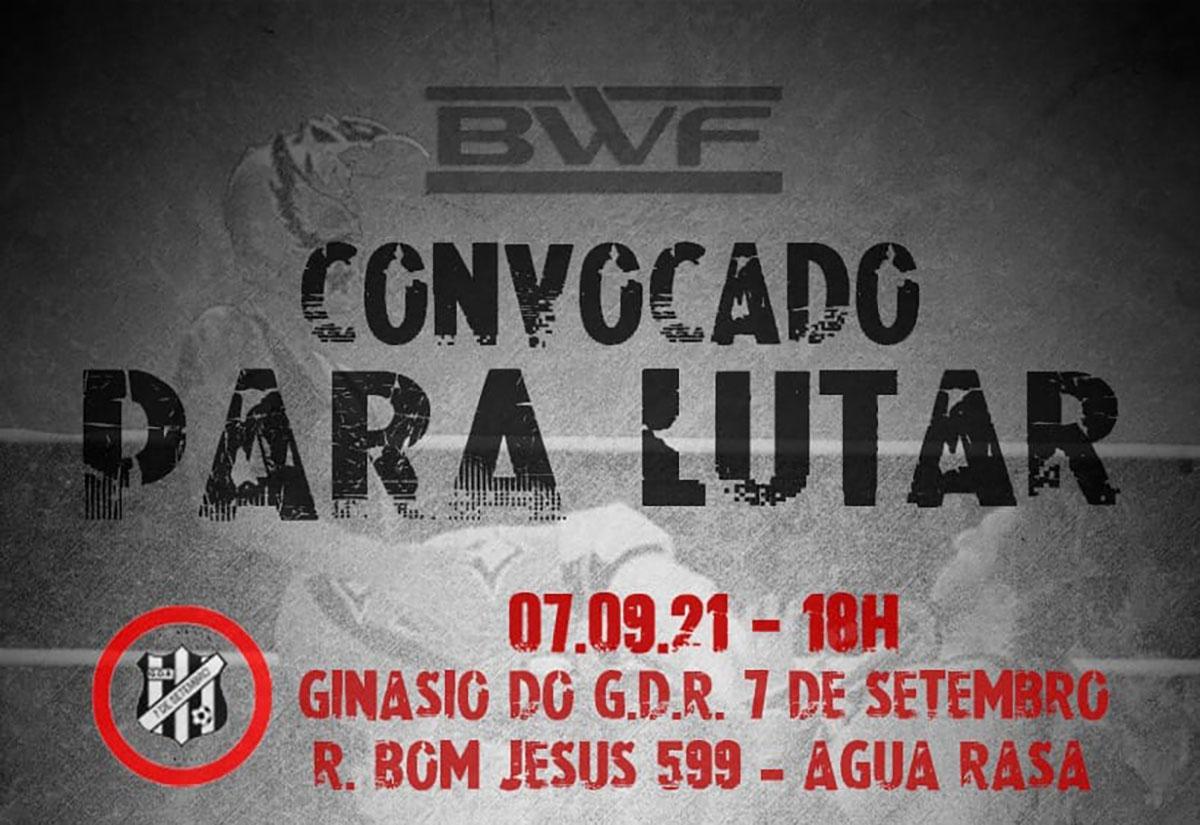 BWF convocado para lutar