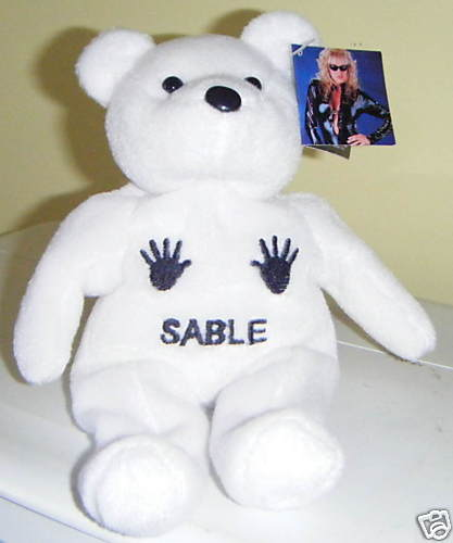 WWF Sable Beanie Bear close up shot - WrestleCrap - The Very Worst of Pro  Wrestling!