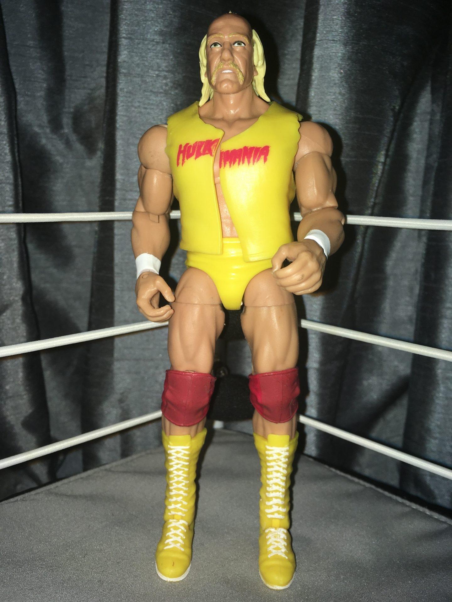 WWE Mattel Elite Defining Moments Hulk Hogan 6 inch figure complete excellent