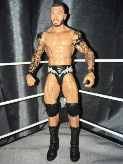 Randy Orton - Build a Figure Jim Ross PPV Series