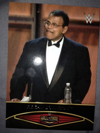 Rocky Johnson - Hall of Fame 22 of 30-  Topps 2015
