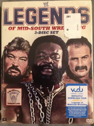 Legends of Mid-South Wrestling 3 Disc Set