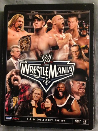 WWE Wrestlemania 22 DVD