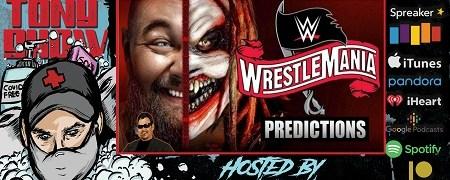 The Don Tony Show (YouTube) 04/03/2020 w/ WrestleMania 36 Predictions