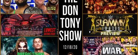 The Don Tony Show (SD) 12/18/2020