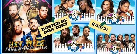 NXT TAKEOVER: IN YOUR HOUSE REVIEW (06/13/2021)