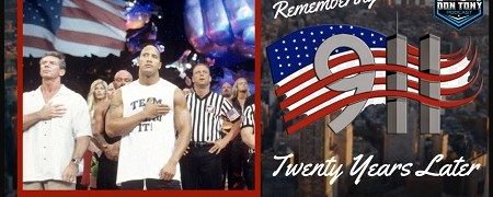 The Don Tony Show 9/11/21: Remembering 9/11/01 + WWE / Pro Wrestling  Twenty Years Later