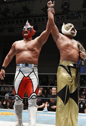 獣神サンダーライガー&タイガーマスク