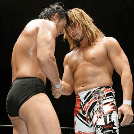 棚橋弘至VS柴田勝頼新日本プロレスを守ってくれてありがとう