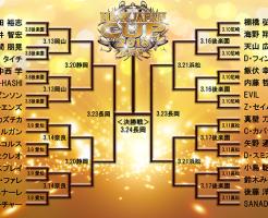 新日本プロレスNEW JAPAN CUPトーナメント表