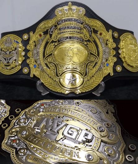 3冠ヘビー級王者VSIWGPヘビー級王者対決