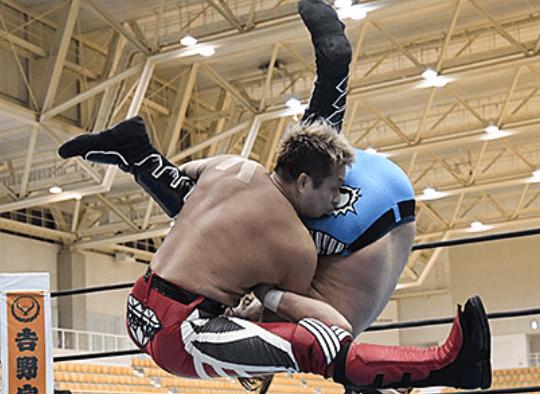 YOSHI-HASHIのNJCは2回戦