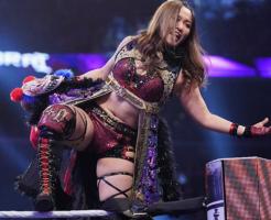 WWE紫雷イオNXT女子王座獲得宣言