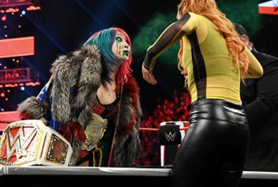 WWEアスカミスト攻撃