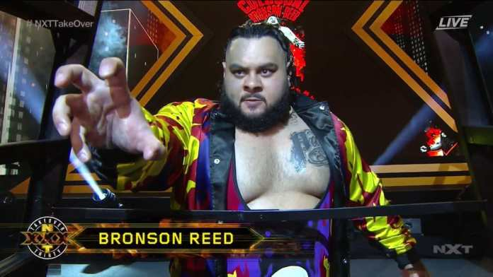 Behind-The-Scenes Look at Bronson Reed Paying Tribute to Bam Bam Bigelow at WWE NXT
