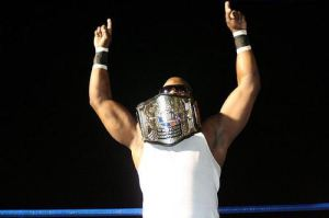 Slyck Wagner Brown, a former 2-time 2CW Heavyweight Champion.