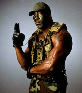 Booker T as GI Bro.