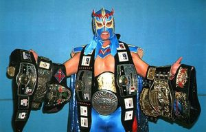 Ultimo Dragon with all the gold.
