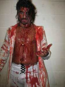 Jacobs after the hanging of Jay Briscoe.