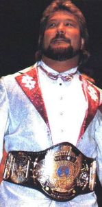 DiBiase was unable to wrestle the championship away from Savage.