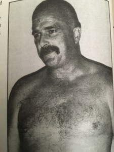 A bald Jake Roberts is still weird to see, for me, at least.