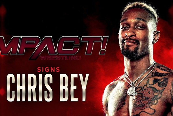 Impact Wrestling Announced Chris Bey's Signing
