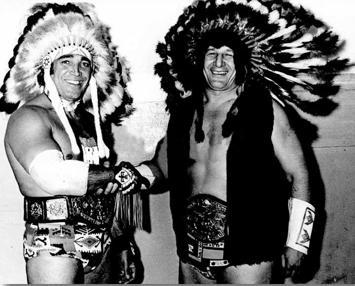 Chief Jay & White Wolf