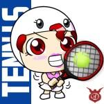 天氣娃娃奧運系列-網球、舉重、射箭、桌球