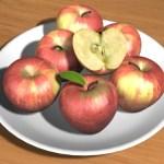3D材質練習-蘋果 雞蛋