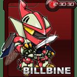 【部落格小玩意】Billbine小時鐘