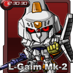 【部落格小玩意】重戰機L-gaim小時鐘