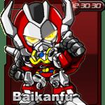 【部落格小玩意】MachineRobo Baikanfu小時鐘