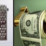 12種有創意的廁所衛生紙設計