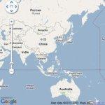 用map看天氣-Facebook上的國際氣象