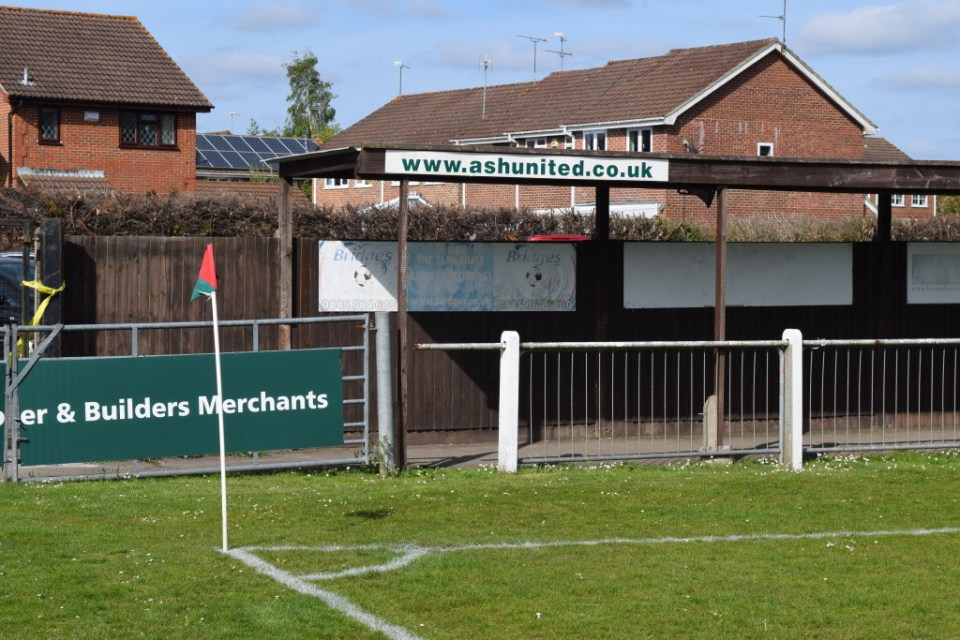 The Cup Final Venue at Ash United FC