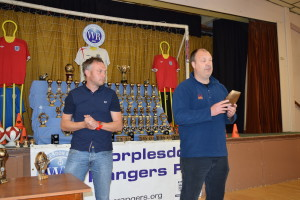 Trophy Day 2015: Shaun Dyer and Dean Brockbank, Under 7 Panthers