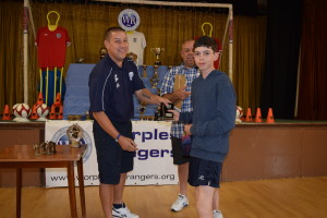 Trophy Day 2015: U12 Trojans Manager, Andy Elton