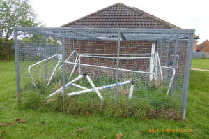 A Familiar Sight at Northmead - Now The Newly Constructed 'Cage'