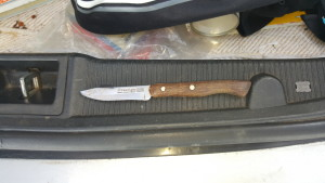 Knife at Cardwells Keep