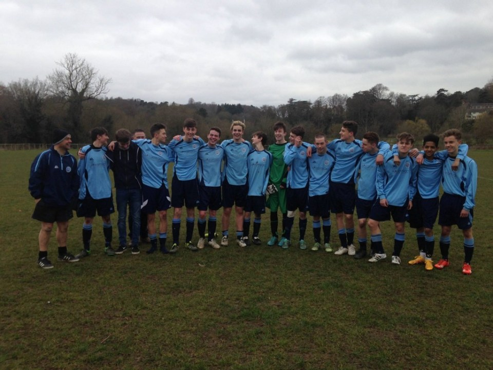This Is Now: WRFC U17 Hurricanes After Their Cup Semi-Final Victory Against Abbey Rangers Youth - 20th March 2016