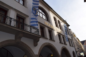 The 16th Century Hofbrauhaus (Beer Hall)