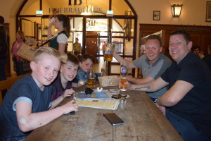 Lads on Tour: Hofbrauhaus With Friends Graham and Will From Mytchett Athletic FC