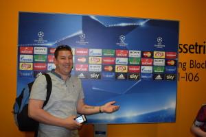 Sean Crooke, WRFC U13 Trojans' Coach Gives His First Bundesliga Post-Match Interview!