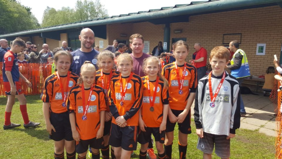 WRFC U12 Titans: Fleet Town Tournament Plate Runners Up 2016