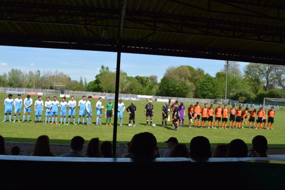 Both Teams Prepare For The Respect Handshake