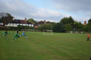 The U12s Home Ground at Weyfield Primary Academy