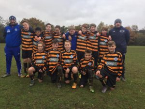 WRFC U13 Warriors Following Their 5-4 Win (Away) to Hook Youth Reds: 20.11.16