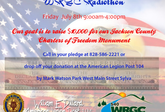 WRGC Radio Hosts Radiothon to Raise Final $10,000 Needed for Charters of Freedom in Jackson County